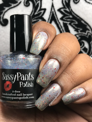 Sassy Pants Polish - Practice Safe Sugar 2 w/ glossy tc