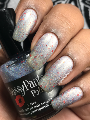 Sassy Pants Polish - Practice Safe Sugar 2 w/ matte tc