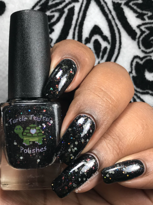 Turtle Tootsie Polishes - Sweet Temptation w/ glossy tc