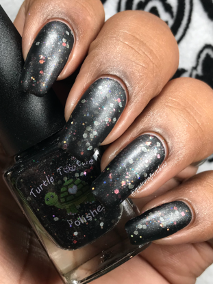 Turtle Tootsie Polishes - Sweet Temptation w/ matte tc