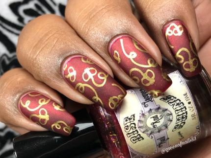 Rise & Shine Cosmetics - Back in Circulation w/ nail art