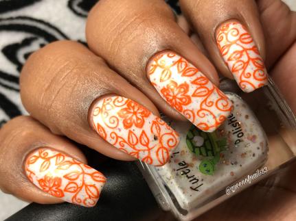 November - w/ nail art