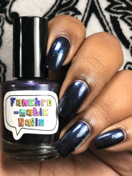 Fanchromatic Nails - Dead But Delicious w/ glossy tc