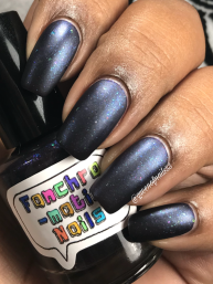 Fanchromatic Nails - Dead But Delicious w/ matte tc
