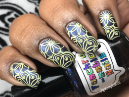 Fanchromatic Nails - Dead But Delicious w/ nail art