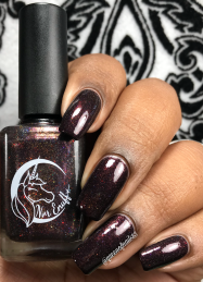 Nvr Enuff Polish - I Will Find You w/ glossy tc