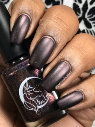 Nvr Enuff Polish - I Will Find You w/ matte tc