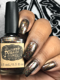Poetry Cowgirl Nail Polish - Don't Dream It w/ glossy tc