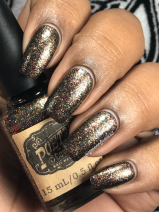 Poetry Cowgirl Nail Polish - Don't Dream It w/ matte tc