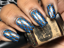 Poetry Cowgirl Nail Polish - Don't Dream It w/ nail art