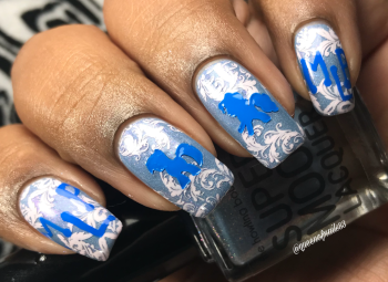 The Howling Boutique's Supermoon Lacquer - You Down With MLP? w/ nail art