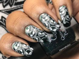 Chrysocolla w/ nail art