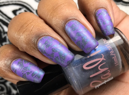 Two Turtledoves w/ nail art