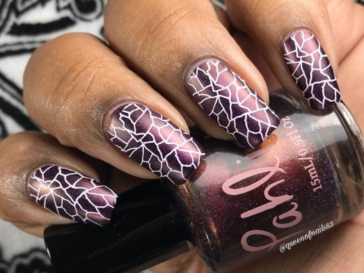 Four Calling Birds w/ nail art