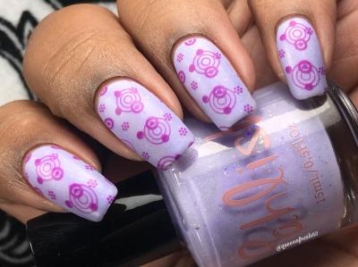 Eight Maids a Milking w/ nail art