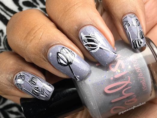 Mouse King w/ nail art