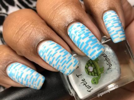 December - w/ nail art