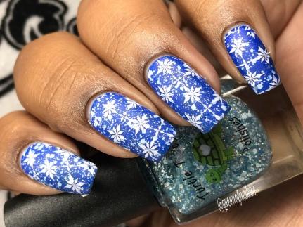 Sagittarius - w/ nail art