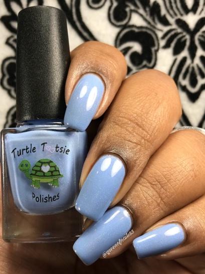 Blue Topaz - w/ glossy tc