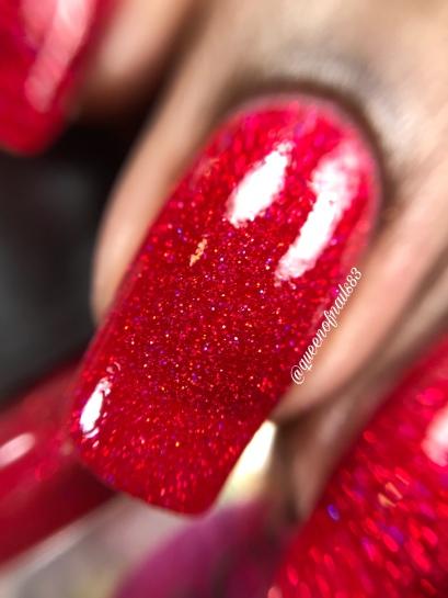 Warm Heart Sparkles - macro