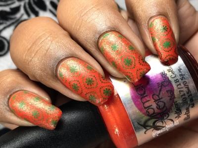My Perfect Pumpkin - w/ nail art