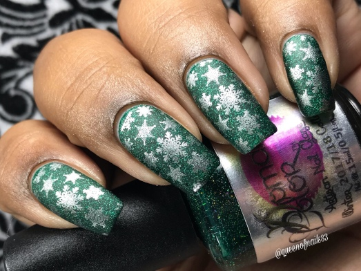 Forest Forever Green - w/ nail art
