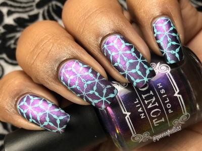 Hush - w/ nail art