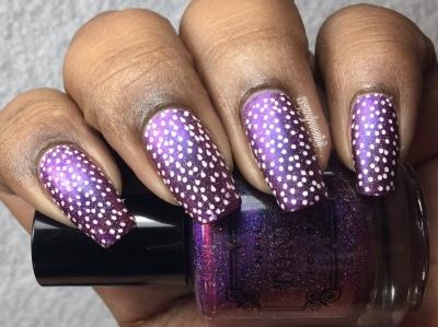 Blanche - w/ nail art