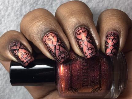 Rose - w/ nail art