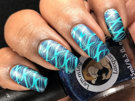 A Story To Tell - w/ nail art