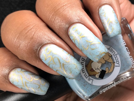Mass Delusions Are As Old As I Am - w/ nail art