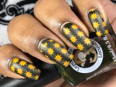 The Sheer Unholy Delight of It - w/ nail art