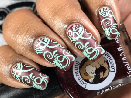 To Give A Good Death Is Art - w/ nail art