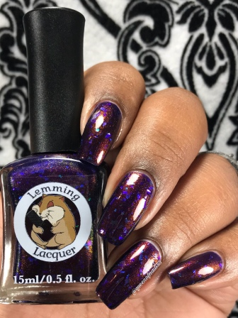 Lemming Lacquer - Ghosts of the Vault - w/ glossy tc