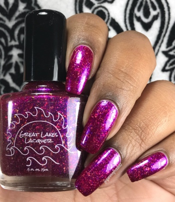 Great Lakes Lacquer - Dragon's Breath Fire Opal - w/ glossy tc