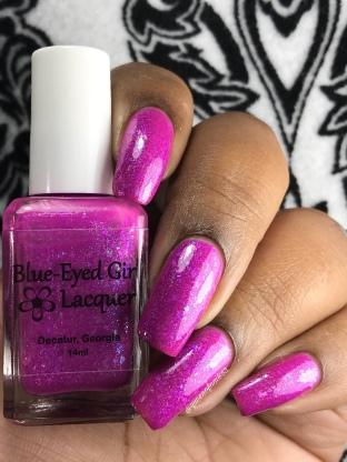 Blue-eyed Girl Lacquer - The Corundum Corundum - w/ glossy tc