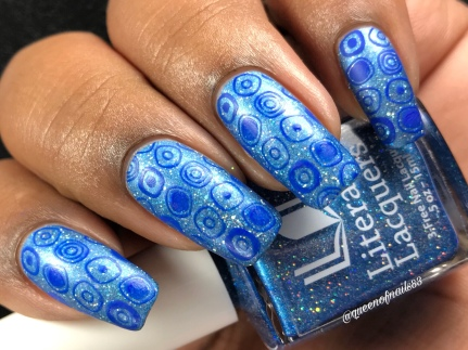 Curiouser and Curiouser - w/ nail art