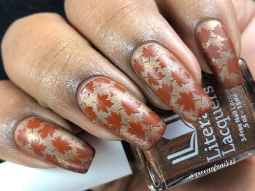 Tulgey Wood - w/ nail art