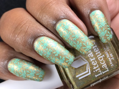 The Golden Afternoon - w/ nail art