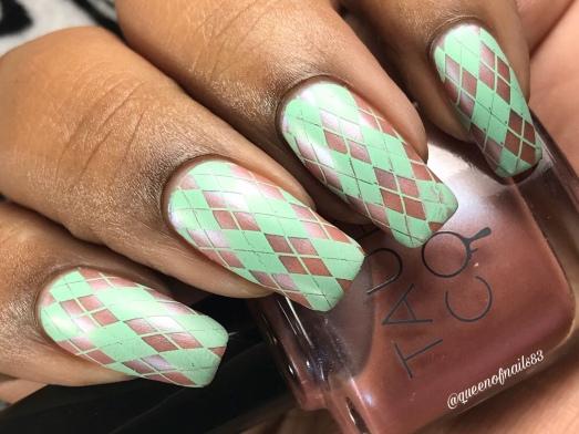 A Little Bubbly - w/ nail art