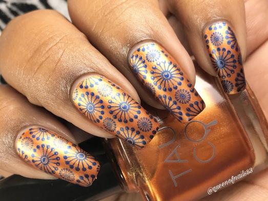 Good Fortune - w/ nail art