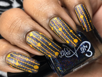 Ever After - Playing with Fire - w/ nail art