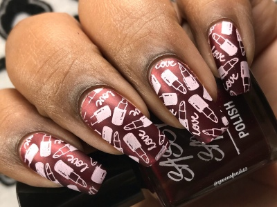 Chin Up and Own It - w/ nail art