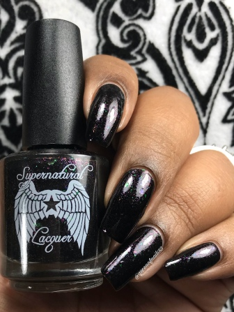 Supernatural Lacquer - Progress Not Perfection w/ glossy tc