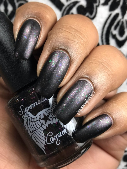 Supernatural Lacquer - Progress Not Perfection w/ matte tc
