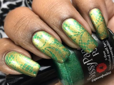 Sassy Pants - You Got This w/ nail art