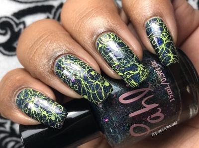 Nocturne - w/ nail art