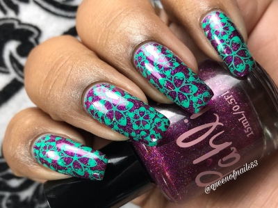 The Lovers - w/ nail art
