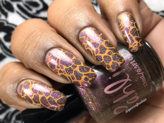 King of Cups - w/ nail art