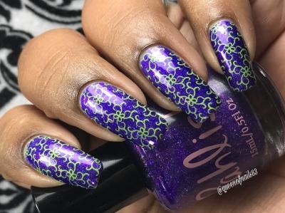 The Fool - w/ nail art